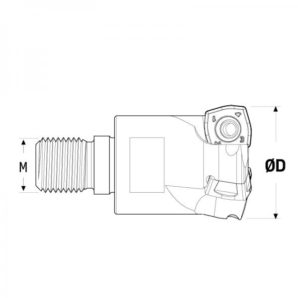 fresa Modular spkw09-V2