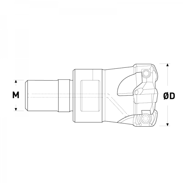 Fresa korloy high modular-XPMW04-02