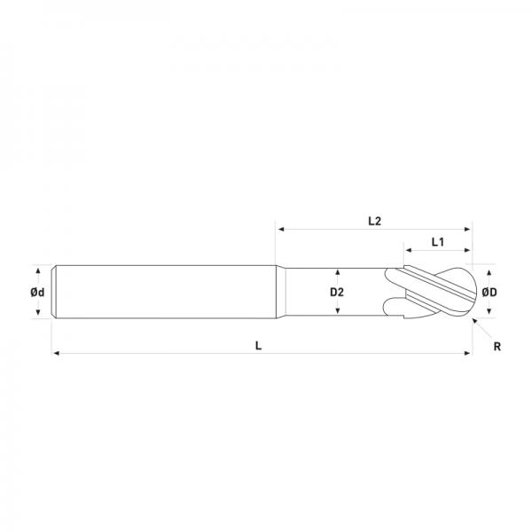 Fresa MD Diamantadas-esf-18
