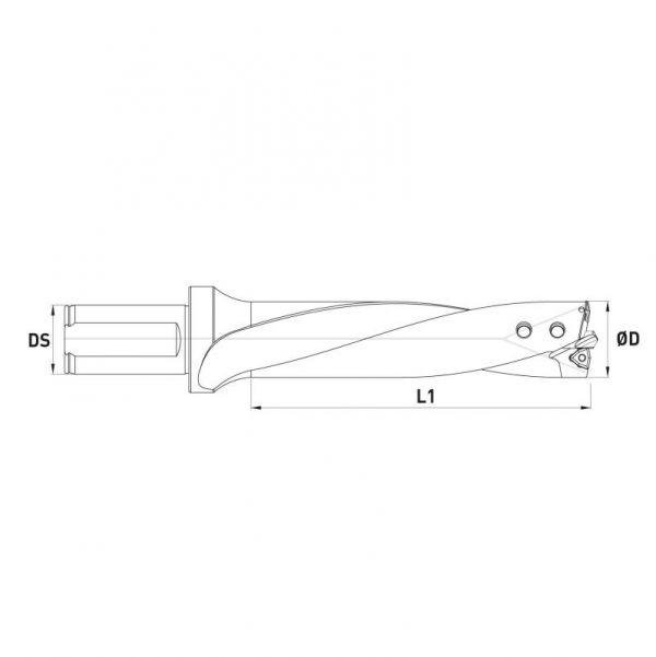 Suporte furação turbo drill com cartuxo-2