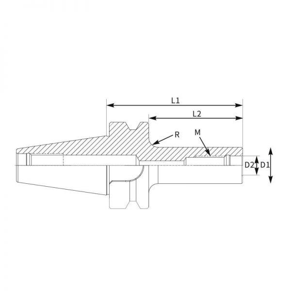 Cone Modular Roscado BT Direito-2