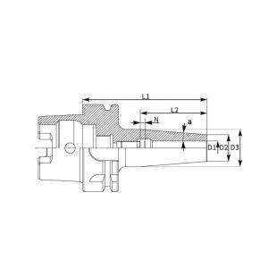 Cone Térmico HSK-A_2